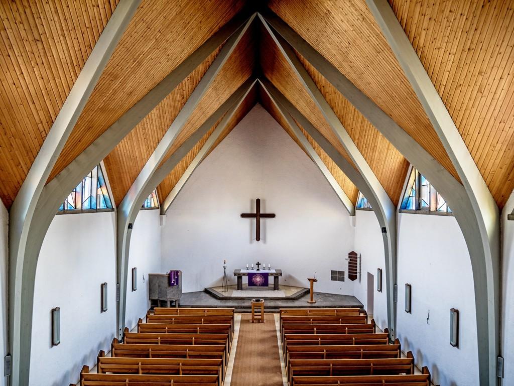 Innenansicht der Matthäuskirche