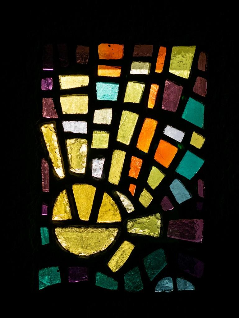 Fenster in der Taufkapelle