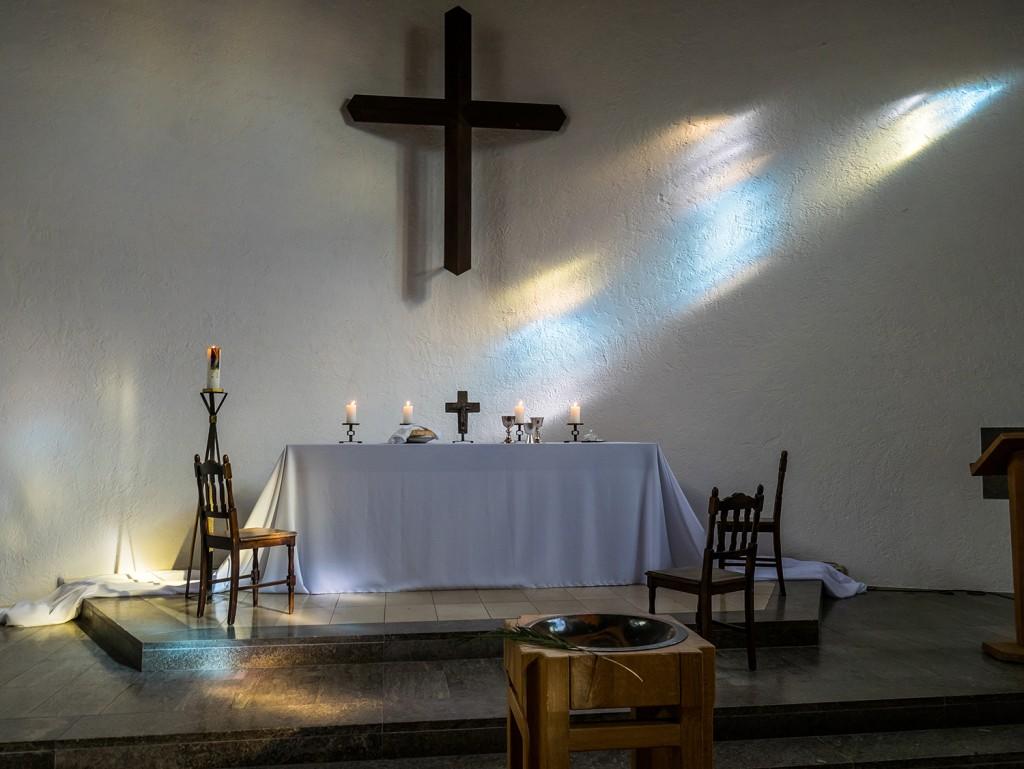 Altar am Gründonnerstag