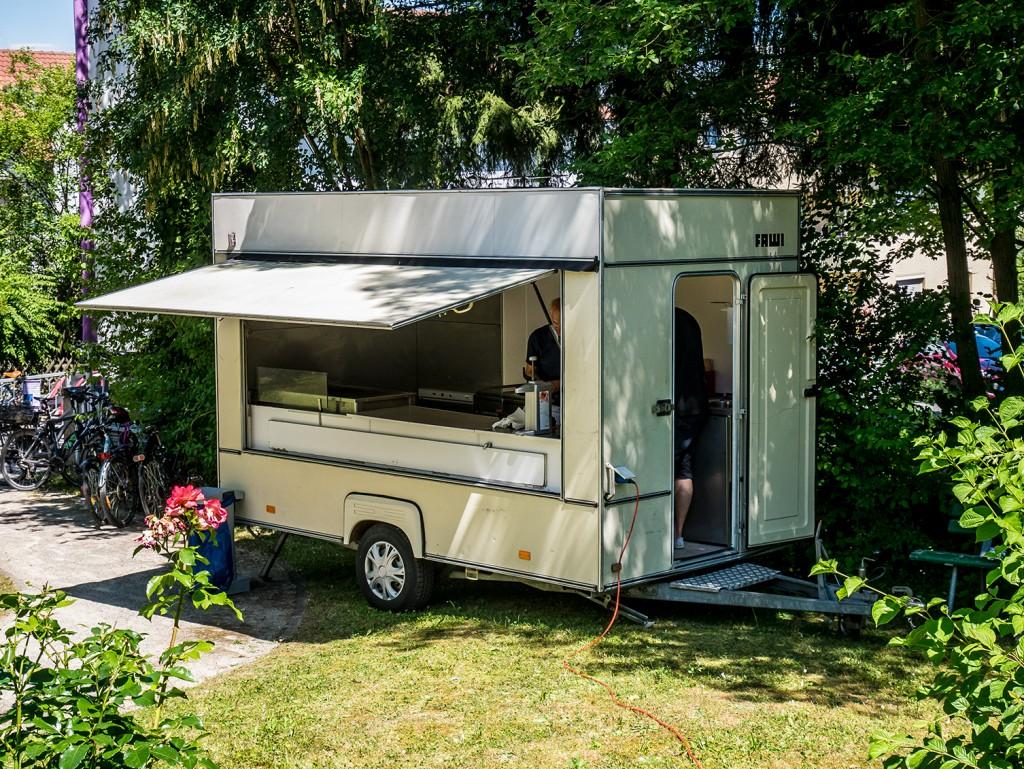 Grillwagen der Familie Scharf (Bischberg)